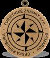 Turistické známky - logo